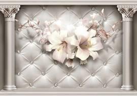 Лилии на стене