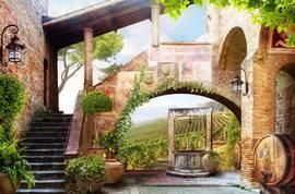 Старая Италия, дворик