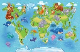 Карта диких животных
