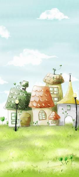 Мультяшные домики